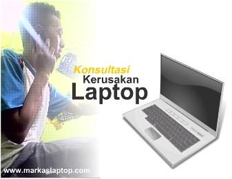 konsultasi laptop mati rusak
