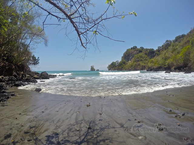 view beach 0000 playa Mancha, Manuel Antonio, Costa Rica
