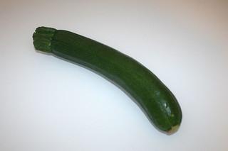 10 - Zutat Zucchini / Ingredient zucchini