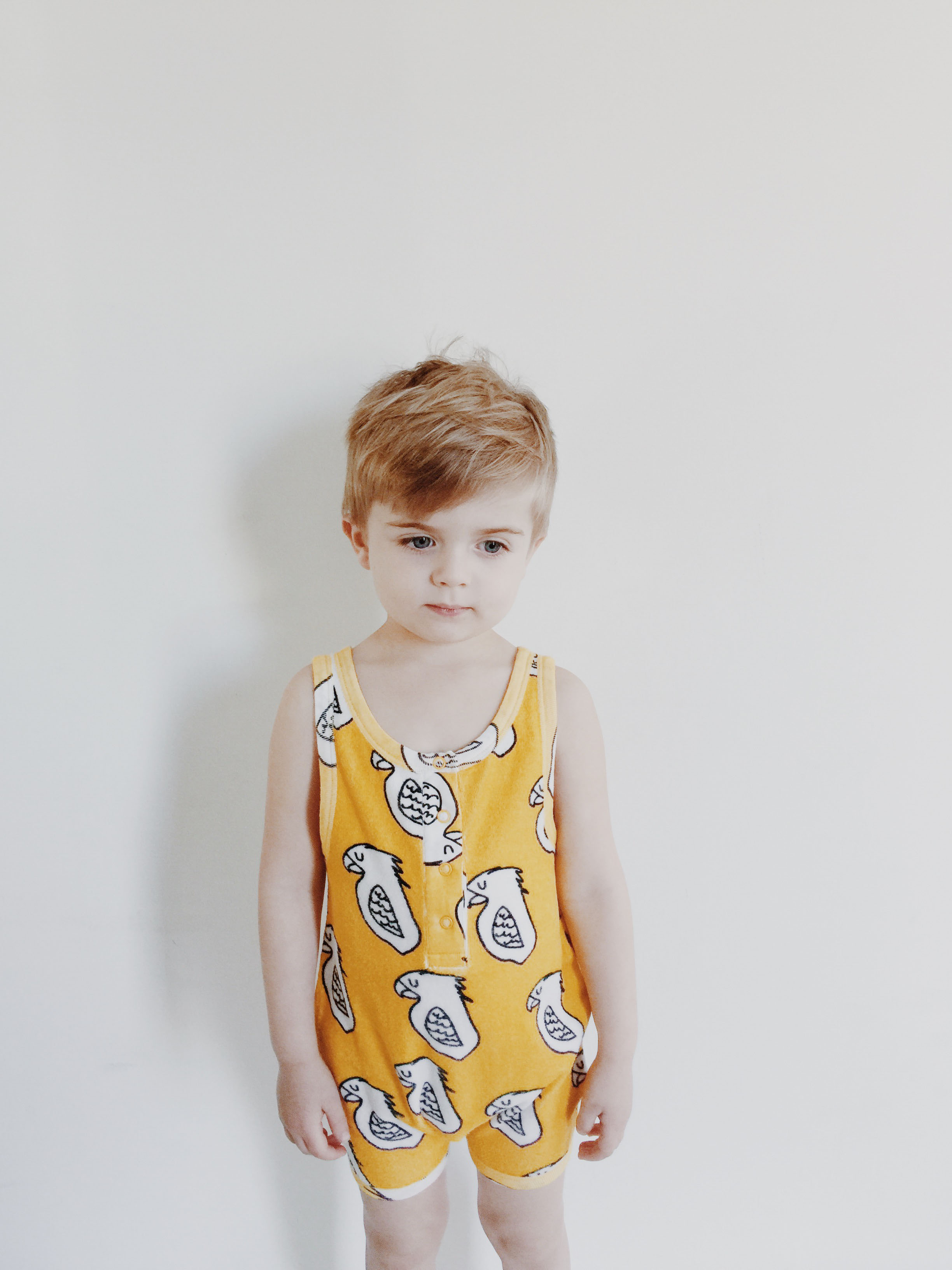 Hugo Loves Tiki SS16 Leopard Unisex Terry Playsuit