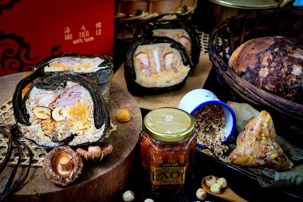 五香腰山药水饺、香红豆多粒米水饺
