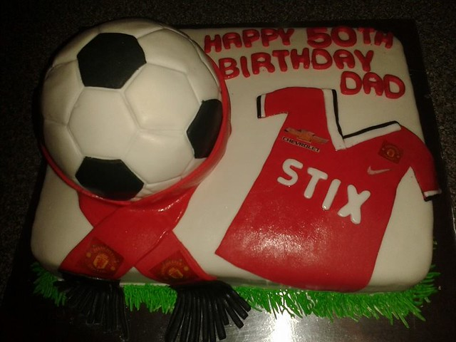 Manchester United Cake by Ronell Singh