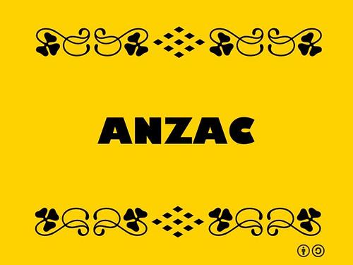 Buzzword Bingo: Anzac #buzzwordbingo