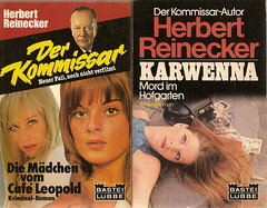 Herbert Reinecker: Der Kommissar / Karwenna, Bastei-Lübbe  1977/1978