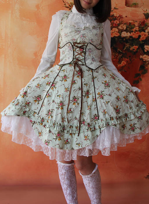 Infanta_Halter_Wrapping_Tape_Lace_Up_Lolita_Dress_12