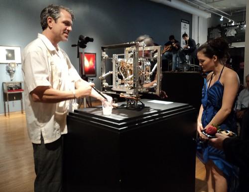 Wayne Martin Belger at Artspace Shreveport by trudeau