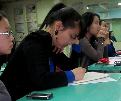 Girls In Ulaanbaatar