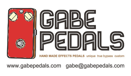 GabePedals.com business card