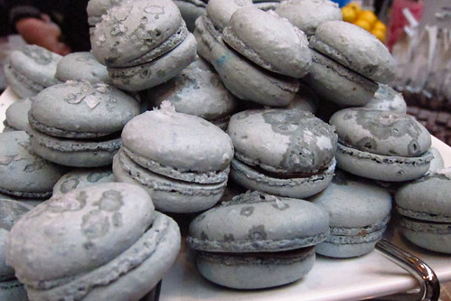 Licorice Macaroon
