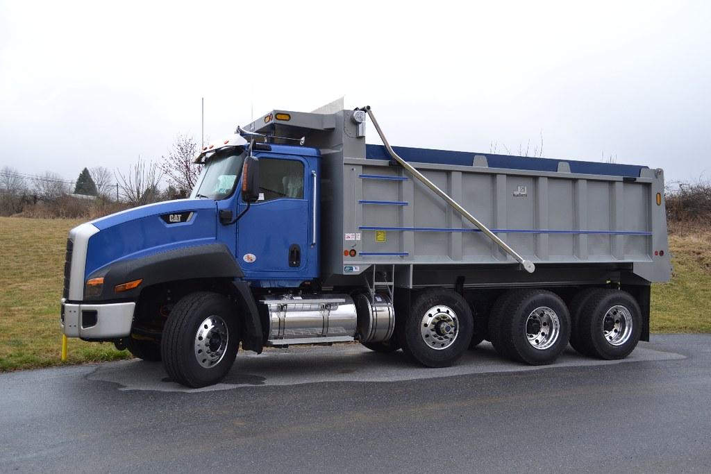 Tri Axle Garbage Truck : Cat ct tri axle dump truck a photo on flickriver