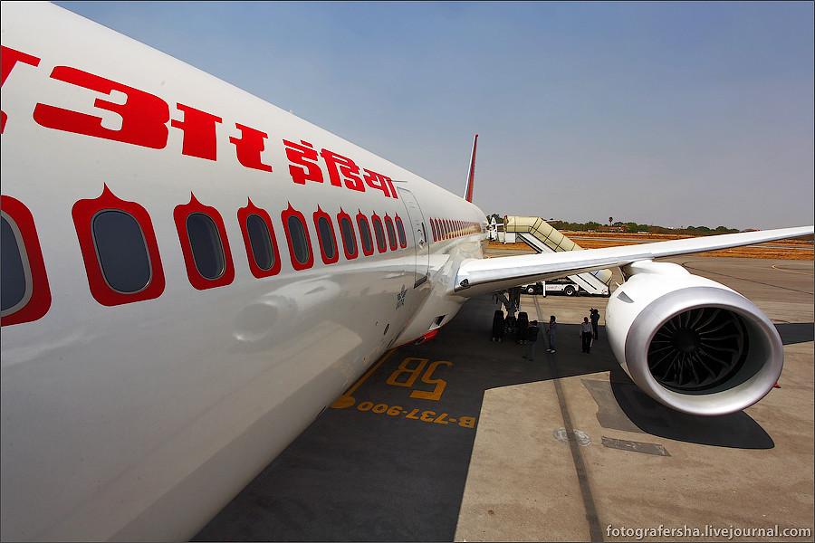 Boeing-787 Dreamliner (B-787 Дримлайнер) авиакомпании Air India