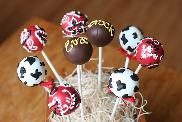 Western Assortment Cake Pops