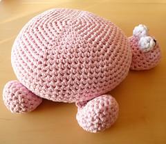 Camiseta fio Turtle Pouf