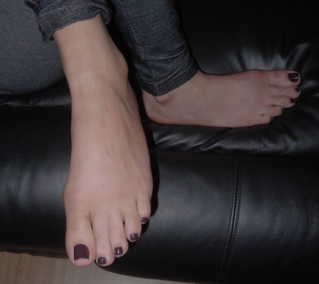 Black Sexy Toes 68