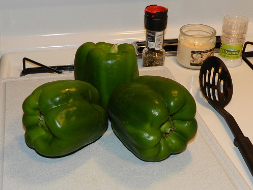 green pepper trio