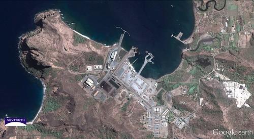 Batu Hijau Gold Mine - Port Facility