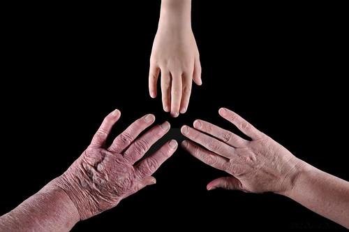 DSC_6417A - Generational Hands (Cross Lit)