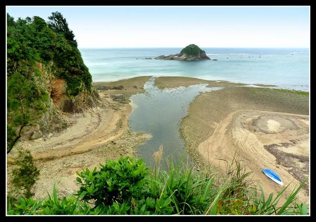 WHERE THE TENIYA RIVER RUNS INTO THE SEA