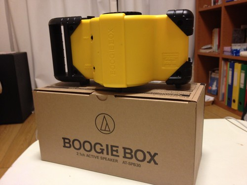 BOOGIE BOX 背面