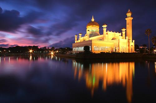 asia mosque borneo brunei bsb bandarseribegawan