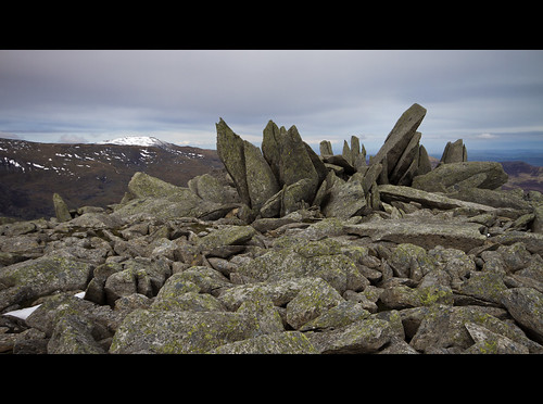 Rocky patch near Glyder Fach