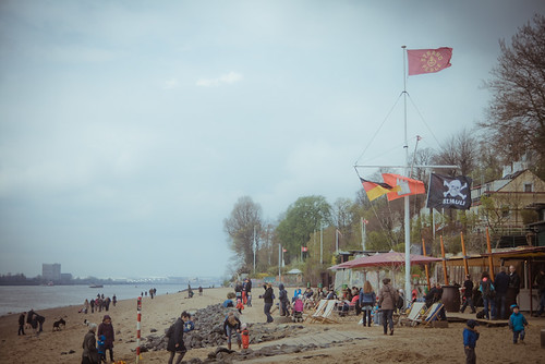 Beach in Hamburg