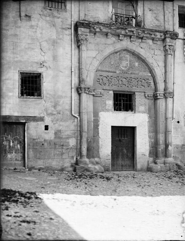 Casa de los Toledo en los años 20. Fotografía de Otto Wünderlich. © Fototeca del Patrimonio Histórico
