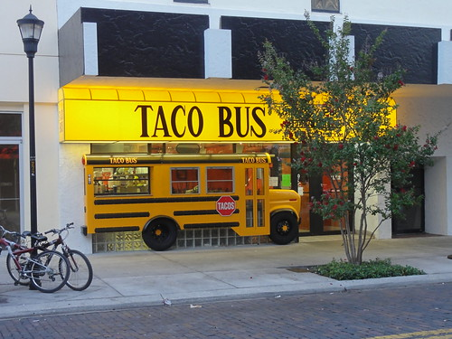 Taco Bus in downtown Tampa