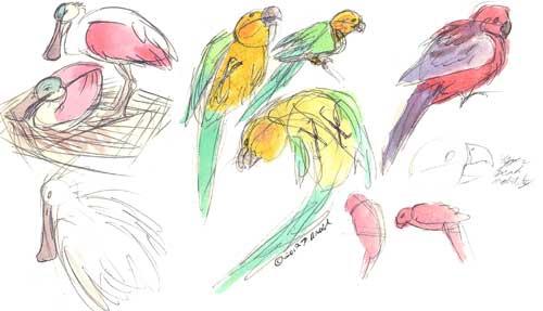Minnie Sketchbook 3