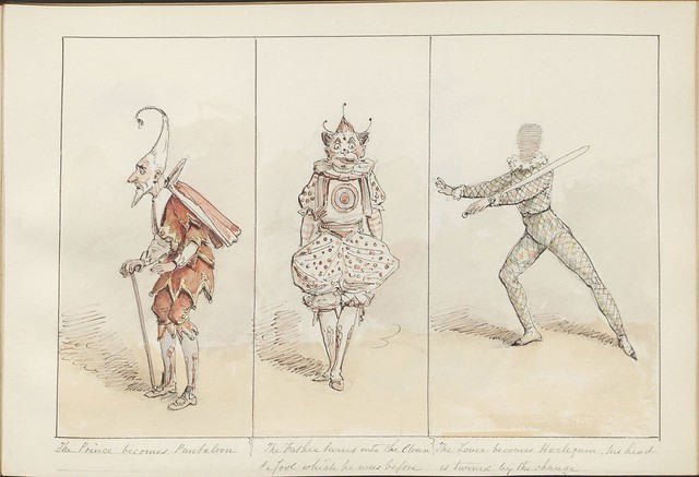Pantomime as it was is and will be by Alfred Crowquill (aka Alfred H Forrester) - 1849 - (The Prince becomes Pantaloon...) - courtesy Harvard U
