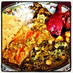 Indian buffets are always so good! Even in Virgini…