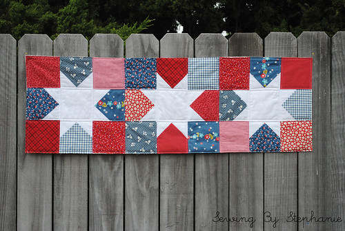 Reversible Table Runner: 4th of July SIde
