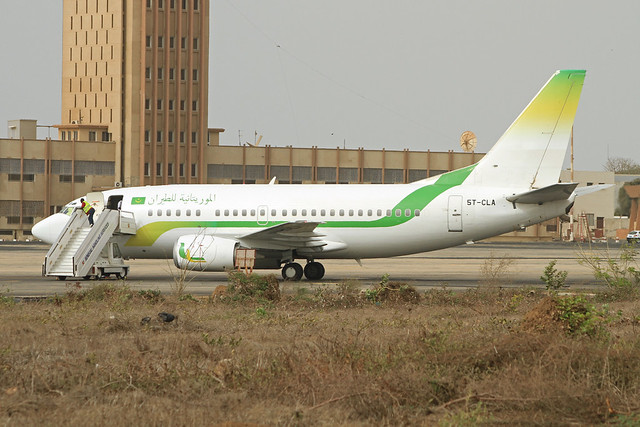 Mauritania Airlines 737 5T-CLA