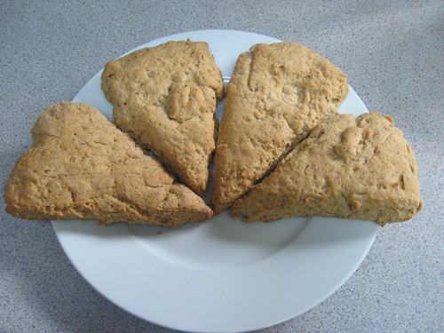 Vegan GF Scones