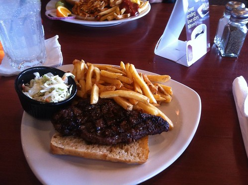 Steak Sandwich by raise my voice
