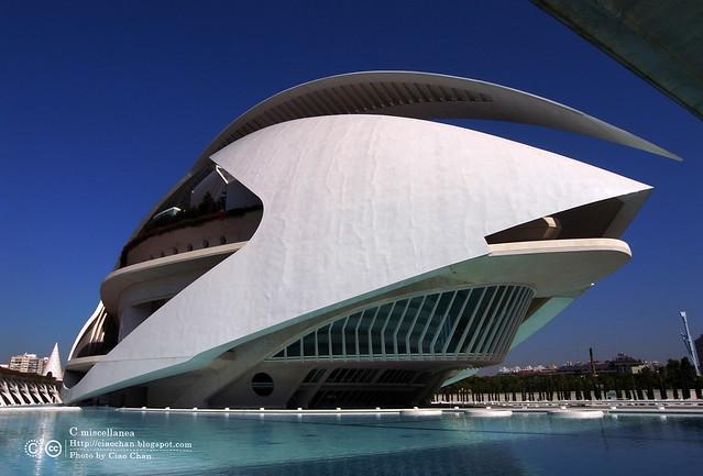 Hola Valencia~瓦倫西亞。藝術科學城 Ciudad de las Artes y las Ciencias     R1043359