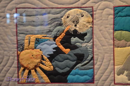 Quilt at monterey bay aqauarium