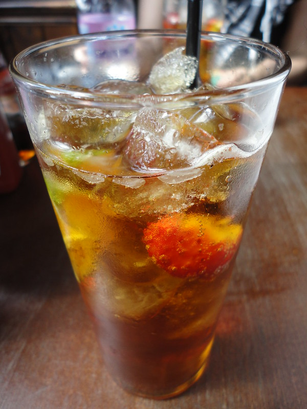 Pimm's & Lemonade from Punch & Judy Pub, London