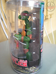 "NECA TEENAGE MUTANT NINJA TURTLES :: ""LEONARDO""  Tube Pack v  (( 2008 ))"