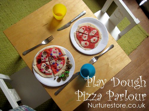 play dough pizza