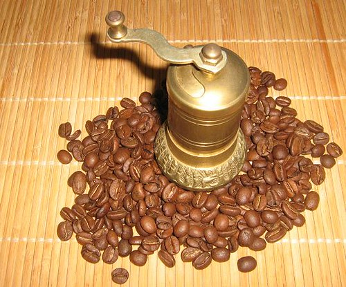 Coffee grinder, vintage-coffee-grinder own photo