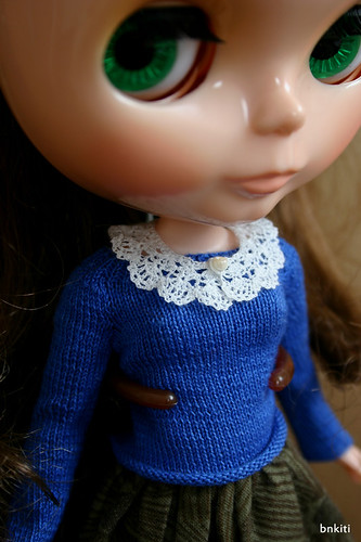 mini collar for 1/6th doll