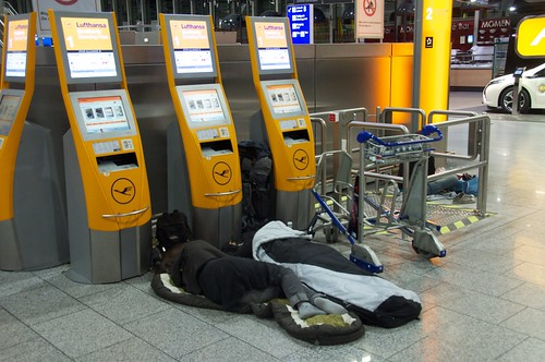 Trip to nowhere - Sleeping in the Terminal