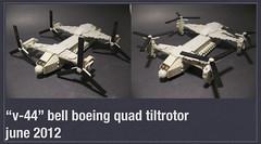 """""""V-44"""" Bell Boeing Quad TiltRotor by [thatjuan]"""