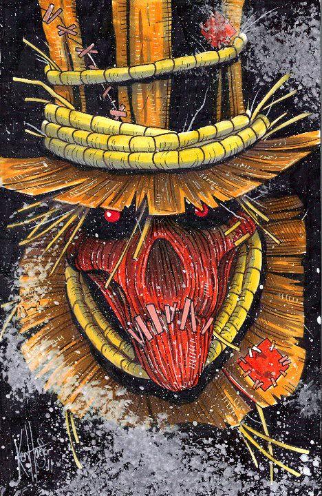 Desenhos Nerds – OS Vilões de Batman - Espantalho