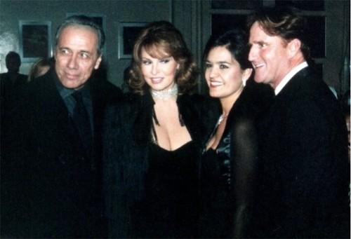 Edward James Olmos & Raquel Welch
