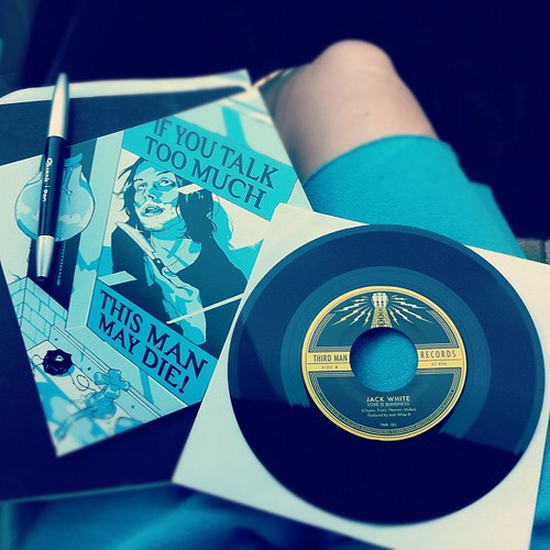 Tour only #vinyl #jackwhite