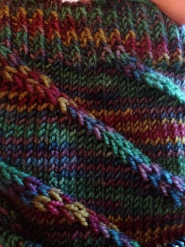 Twisted Stitches Sock