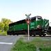 Rarely Used Rail - Engine Crossing