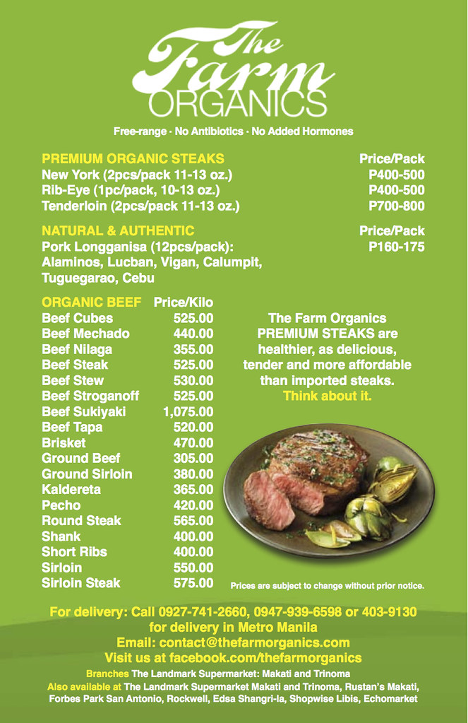 The farm Organics _Flyer_0518
